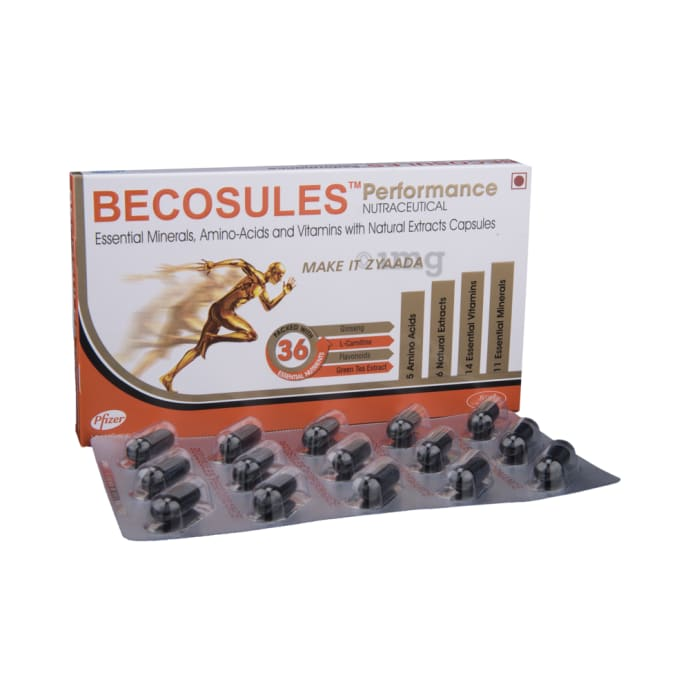 Becosules Performance Capsule 15'S