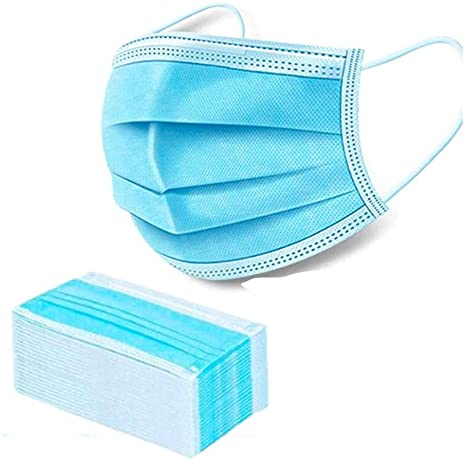 3-Ply Disposable Surgical Face Mask 100's