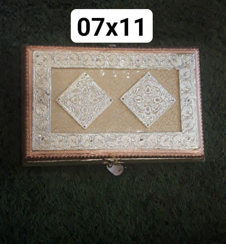 07X11 WOODEN REGZIN DRY FRUIT BOX